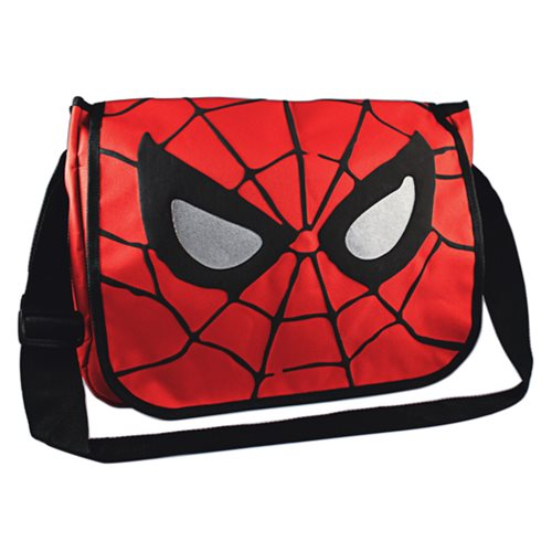 Spider-Man Mask Messenger Bag