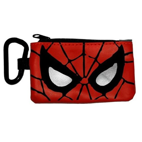 Spider-Man Eyes Coin/Card Case Key Chain