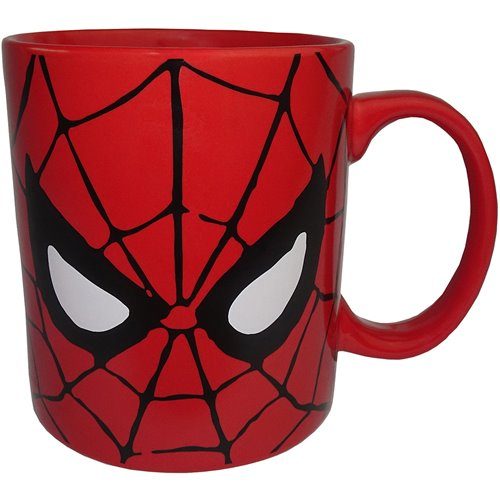 Spider-Man Face 14 oz. Mug