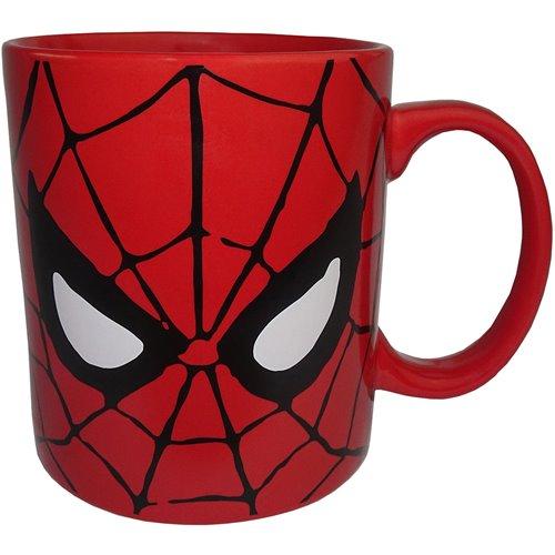 Buffalo Auto Group >> Spider-Man Face 14 oz. Mug - Silver Buffalo - Spider-Man ...