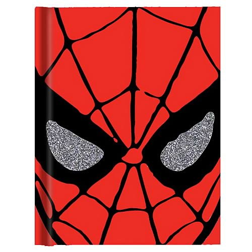 Spider-Man Face Hardcover Journal