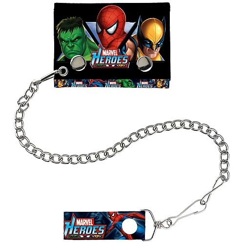 Marvel Heroes Chain Wallet
