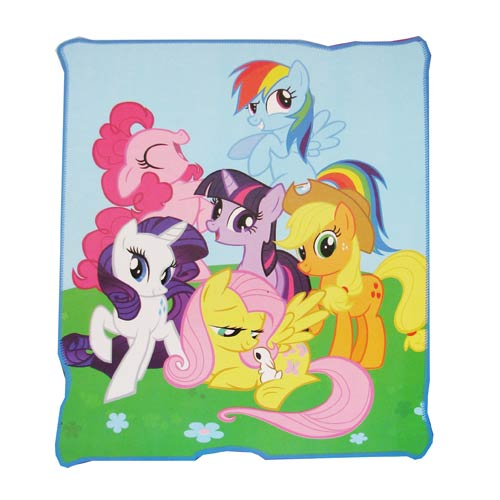 My Little Pony Friendship is Magic Throw Blanket
