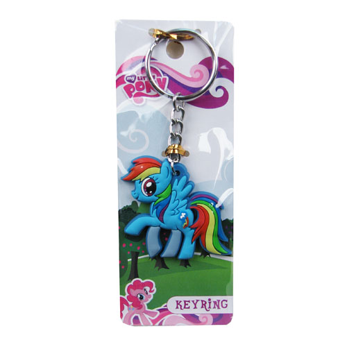 MLP Friendship is Magic Rainbow Dash Rubber Key Chain