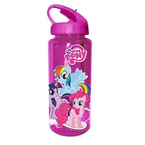 My Little Pony Purple Ponies Plastic Water Bottle
