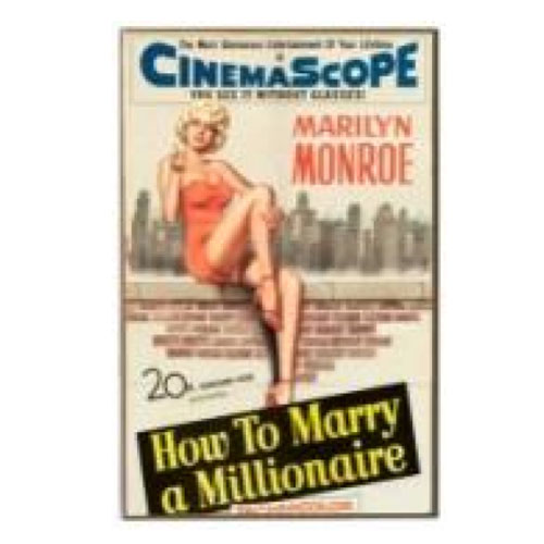 How To Marry A Millionaire Wood Wall Sign