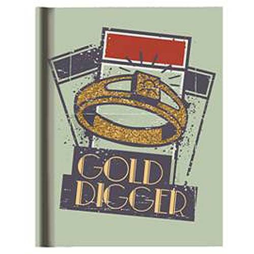 Monopoly Gold Digger Hardcover Journal