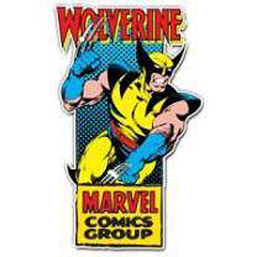Wolverine Action Claw Die-Cut Wood Wall Art