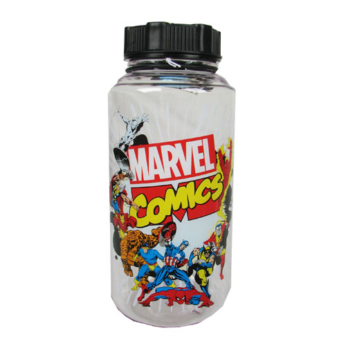 Marvel Group Shot 1 Liter Plastic Water Bottle