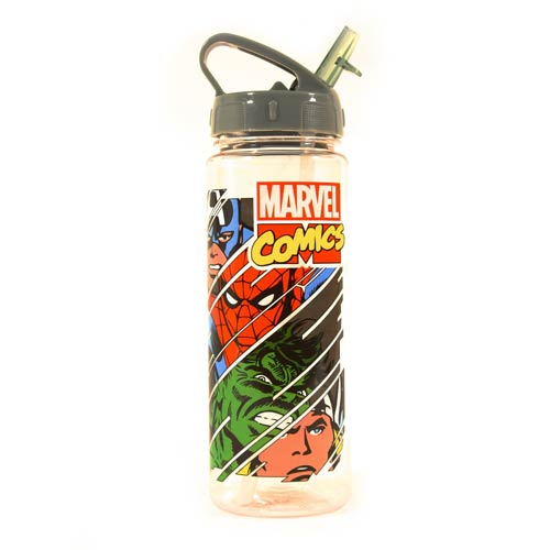 Marvel Characters Slashed 20 oz. Tritan Water Bottle