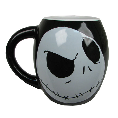NBX Jack Skellington 18 oz. Ceramic Oval Mug