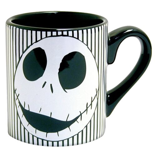 The Nightmare Before Christmas Jack Face 14 oz. Ceramic Mug