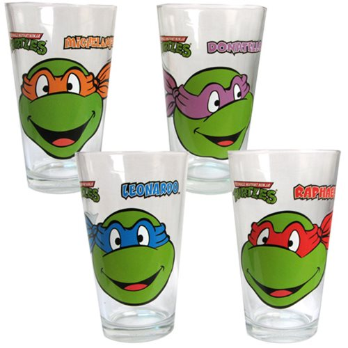 Teenage Mutant Ninja Turtles Glasses 4-Pack