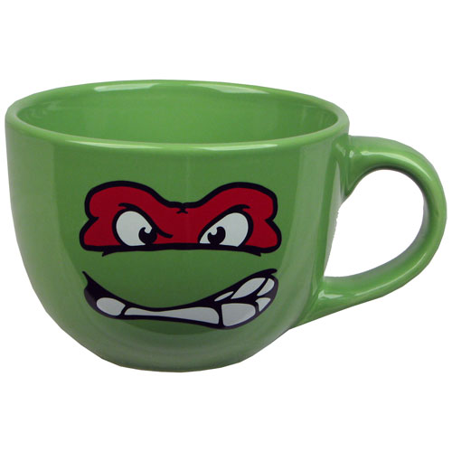 Teenage Mutant Ninja Turtles Raphael 24 oz. Soup Mug