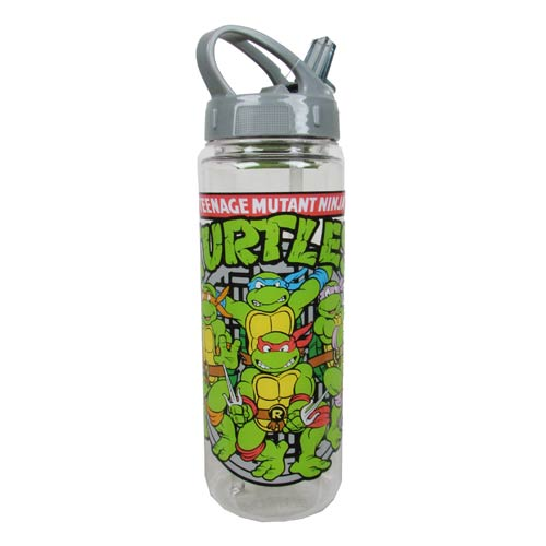 TMNT Group Sewer Shot 20 oz. Tritan Water Bottle