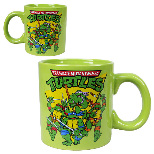 Teenage Mutant Ninja Turtles Group 20 oz. Jumbo Ceramic Mug