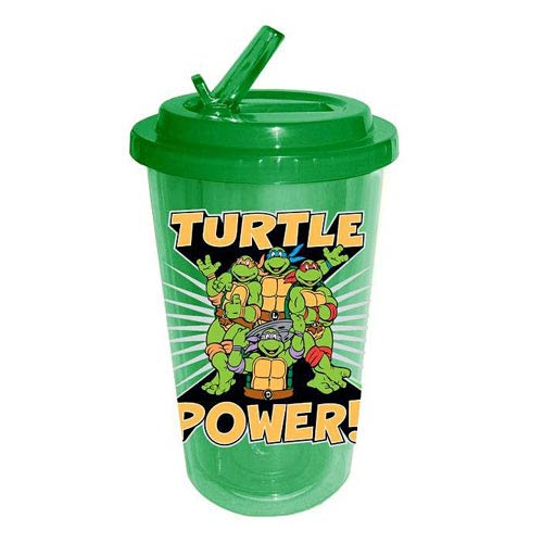 Teenage Mutant Ninja Turtles Turtle Power Flip Straw Cup