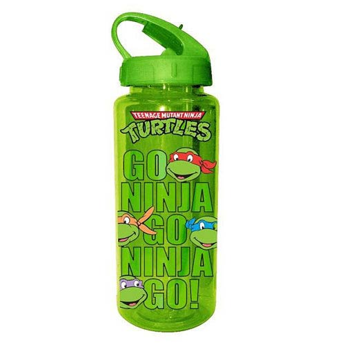 Teenage Mutant Ninja Turtles Go Ninja Plastic Water Bottle