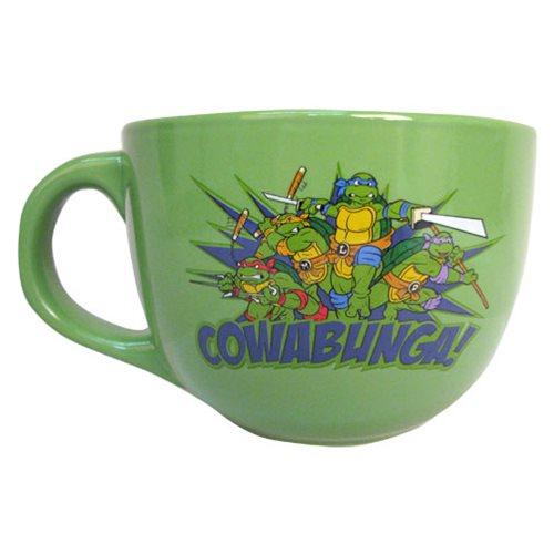 TMNT Cowabunga 24 oz. Ceramic Soup Mug
