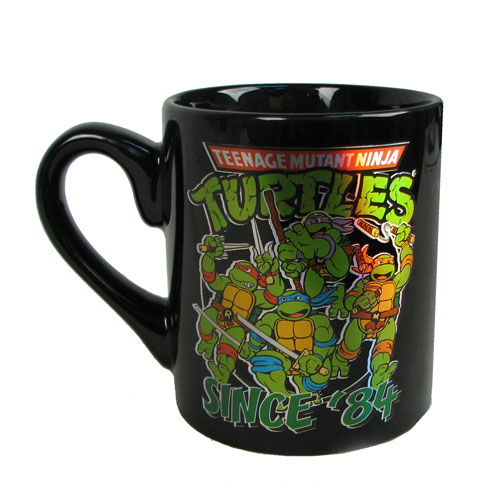 TMNT Group Shot Since 84 14 oz. Ceramic Laser Print Mug