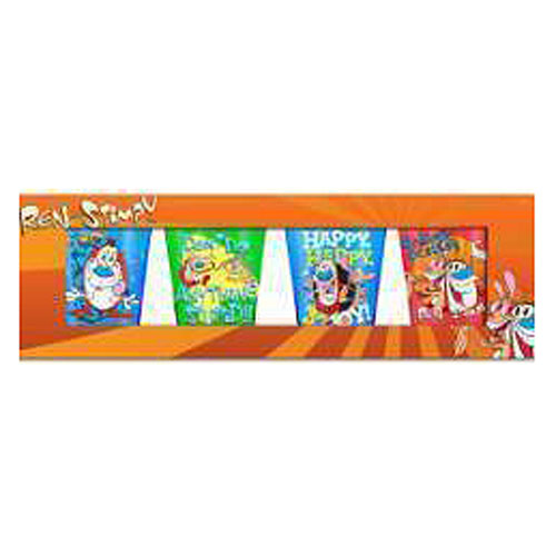 Ren and Stimpy Shot Glass 4-Pack