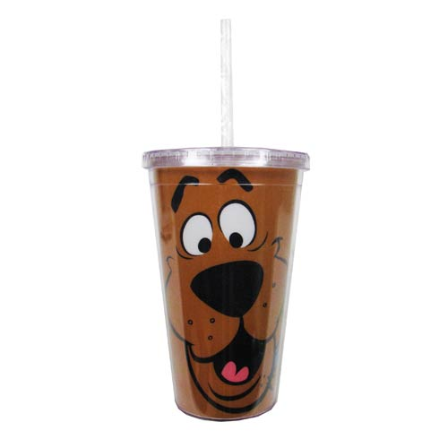 Scooby-Doo Face Plastic Travel Cup