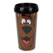 Scooby-Doo Scooby Black Travel Mug