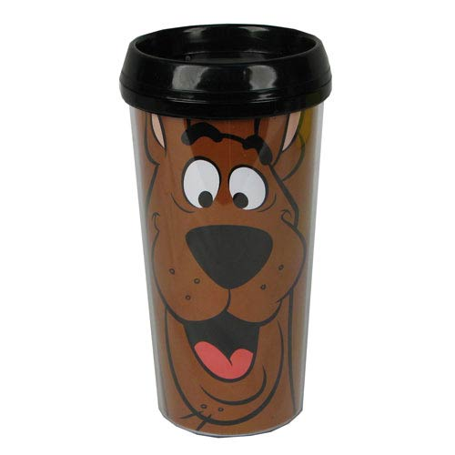 Scooby-Doo Scooby Black Travel Mug