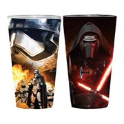 Star Wars Episode VII The Force Awakens Villain Poster Wrap Pint Glass 2 Pack