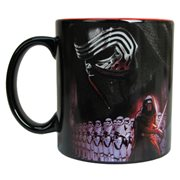 Star Wars Episode VII The Force Awakens Villain Group Poster 20 oz Ceramic Mug
