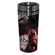 Star Wars Episode VII The Force Awakens Villain Group 16 oz SS Travel Mug