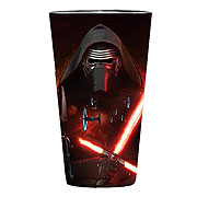 Star Wars Episode VII The Force Awakens Lead Villain Poster 16 oz Pint Glass