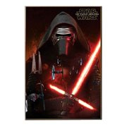 Star Wars Episode VII The Force Awakens Lead Villain Poster Wall Art