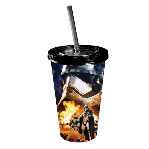 Star Wars: Episode VII - The Force Awakens Phasma and Flametroopers 16 oz. Travel Cup