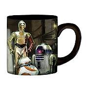 Star Wars Episode VII The Force Awakens The Droids 14 oz Ceramic Mug