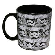 Star Wars Episode VII The Force Awakens Allover Trooper Faces 20 oz Ceramic Mug