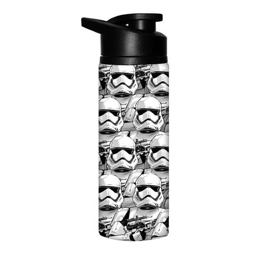 Star Wars Episode 7 Allover Trooper Faces SS Water Bottle