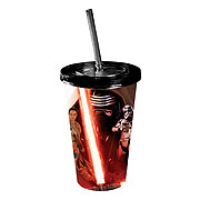 Star Wars Episode VII The Force Awakens All Characters Poster 16 oz Travel Cup