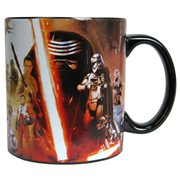 Star Wars Episode VII The Force Awakens All Characters Poster 20 oz Ceramic Mug