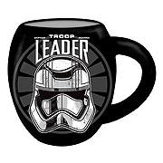 Star Wars Episode VII The Force Awakens Troop Leader Logo 18 oz Oval Mug