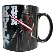 Star Wars Episode VII The Force Awakens Villain Text Image 20 oz Ceramic Mug
