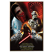 Star Wars Episode VII The Force Awakens Villain Group Poster Wall Art