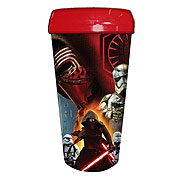 Star Wars Episode VII The Force Awakens Villain Group 16 oz Plastic Travel Mug