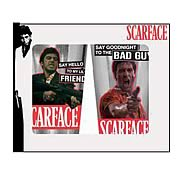 Scarface Bad Guy Glass Tumbler 2-Pack