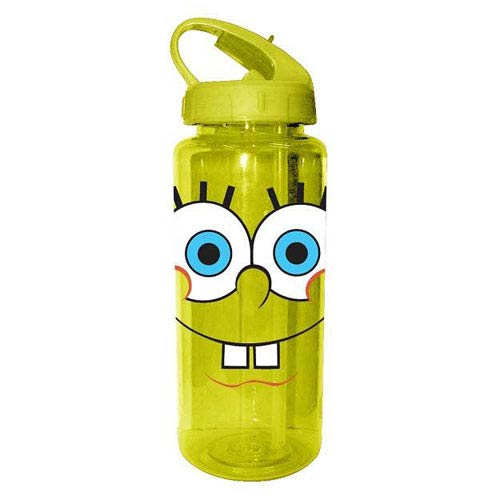 SpongeBob SquarePants Grin Plastic Water Bottle