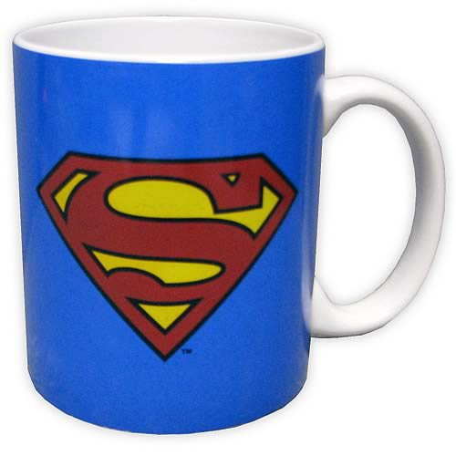 Superman Logo Blue Mug