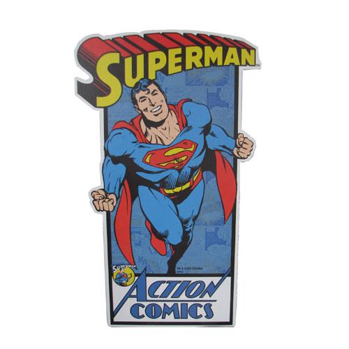 Superman Die-Cut Wood Wall Art