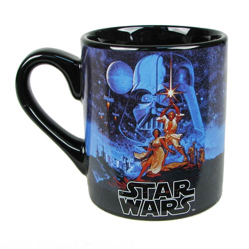 Star Wars Classic with Text 14 oz. Ceramic Mug
