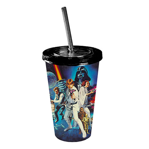 Star Wars A New Hope Poster Plastic Travel Cup