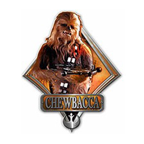 Star Wars Chewbacca Die-Cut Wood Wall Art